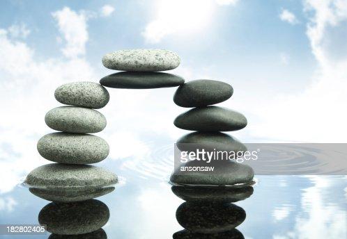bridge of balance : Stock Photo