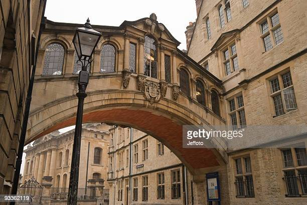 Bridge of Sighs from Hertford college Oxford