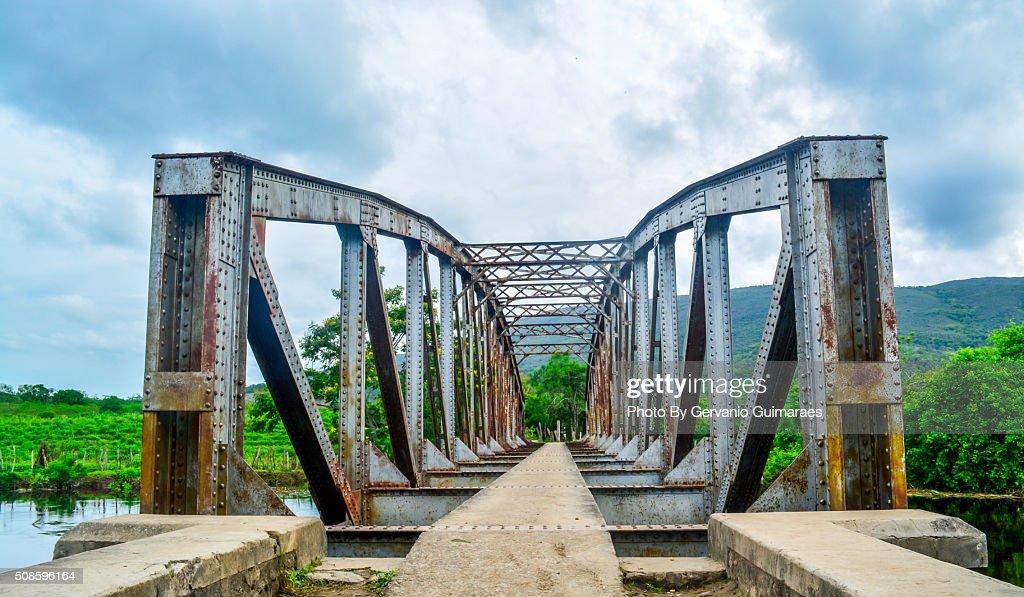 Bridge on the river. : Stock-Foto