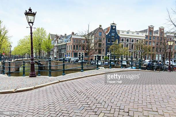Bridge over canal, Amsterdam