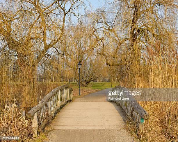 Bridge over Creek in Castle Ground