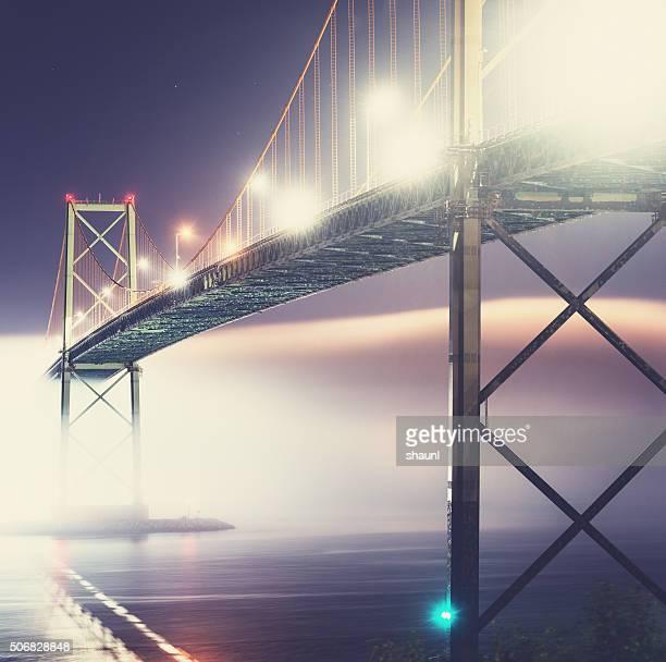 Bridge Over Foggy Harbour