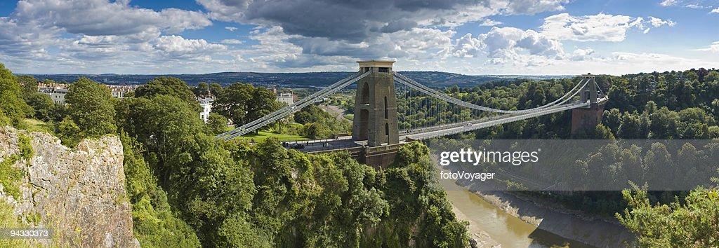 Bridge over gorge, Bristol, UK