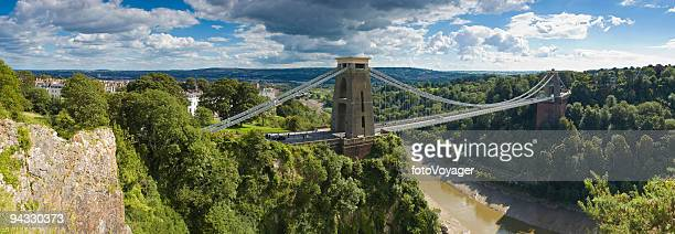 Bridge over gorge, Bristol, UK