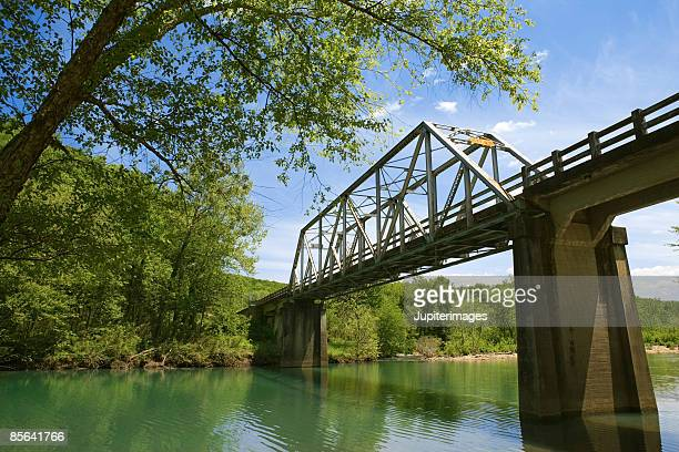 Bridge over Haw Creek, Ozark Mountains
