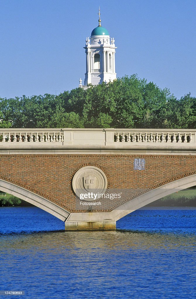 Bridge Over The Charles River, Cambridge, Massachusetts