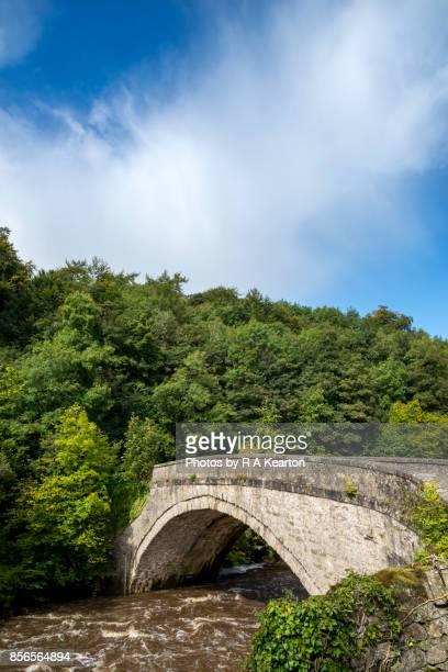Bridge over the river Ure at Aysgarth falls, Yorkshire Dales, England