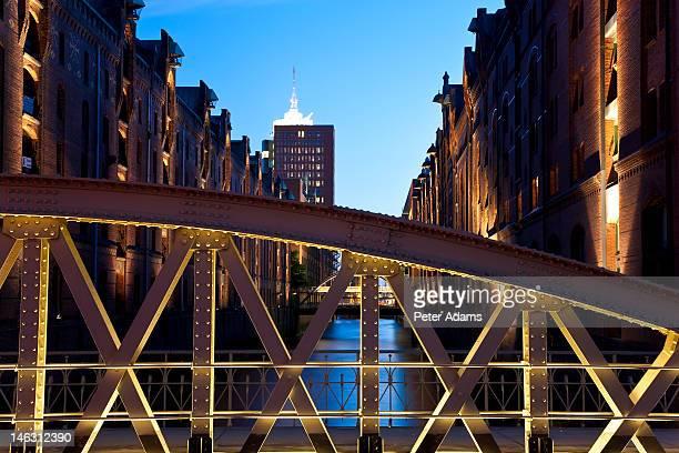Bridge & Speicherstadt Warehouse District, Hamburg