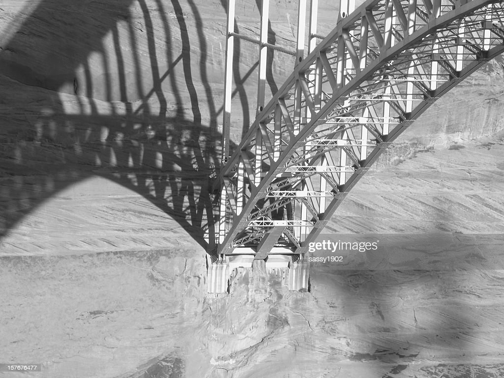 Bridge Steel Girders Shadow