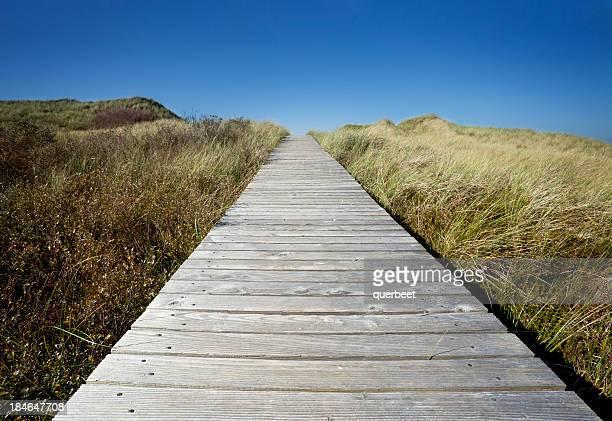 Brücke über den sand dunes