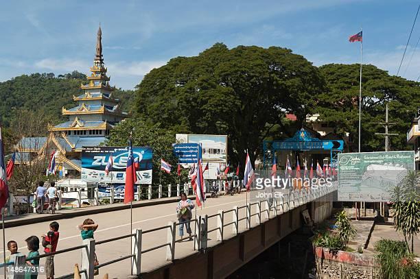 Bridge to Burma (Myanmar), border crossing.