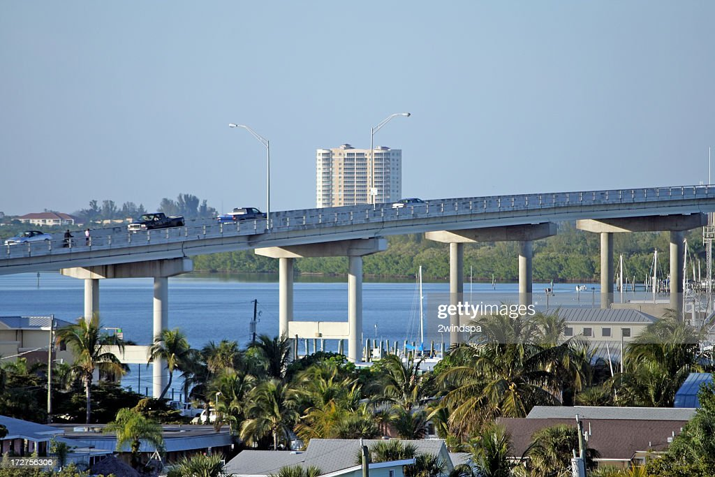 Bridge to Fort Myers, Florida.