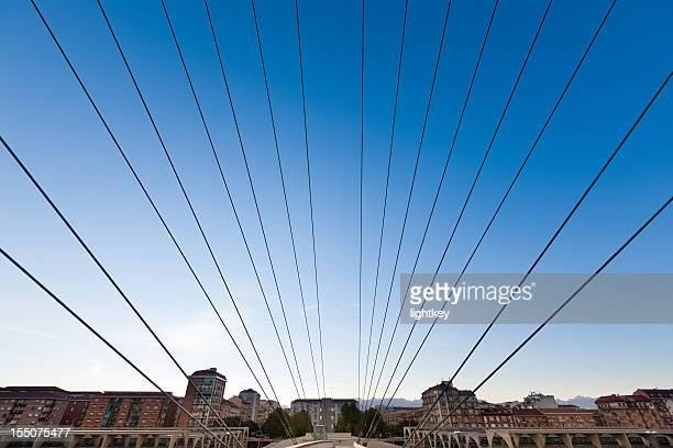 Ponte sulla città
