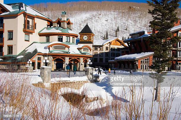 Alpine utah stock photos and pictures getty images for Giant city lodge cabins