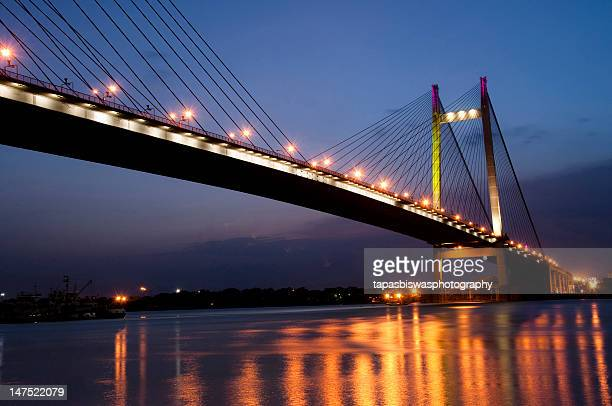 Bridge view after sunset