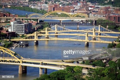 Bridges across Allegheny River, Pittsburgh