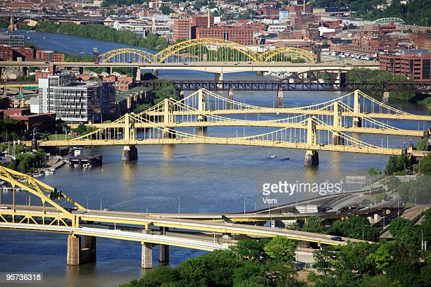Bridges across Allegheny River, Pittsburgh