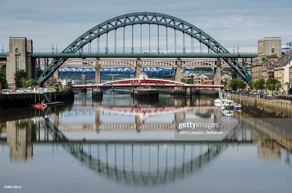 Bridges in Newcastle upon Tyne, England