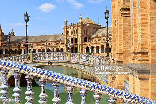 Bridges in Plaza de España