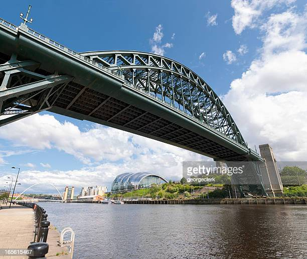 Bridges over the Tyne connecting Newcastle and Gateshead