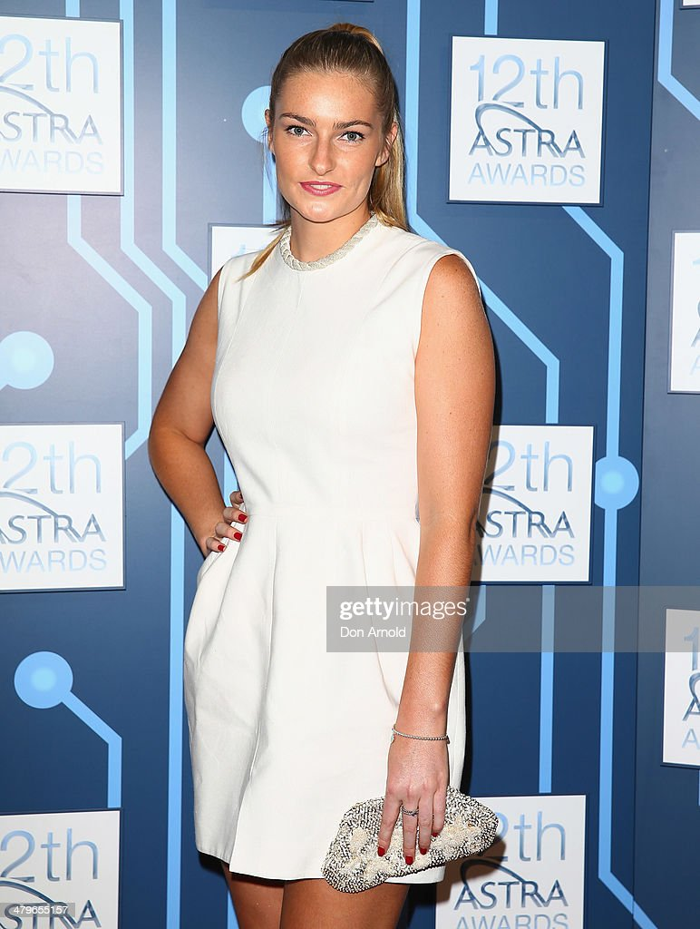 Bridget Abbott attends the 12th Astra Awards at Carriageworks on March 20, 2014 in Sydney, Australia.
