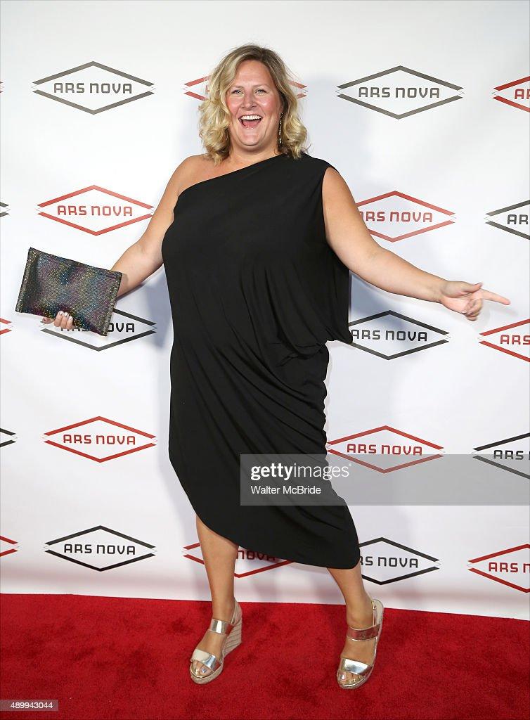 Bridget Everett attends the Ars Nova Revolution Benefit at the Edison Ballroom on September 21 2015 in New York City