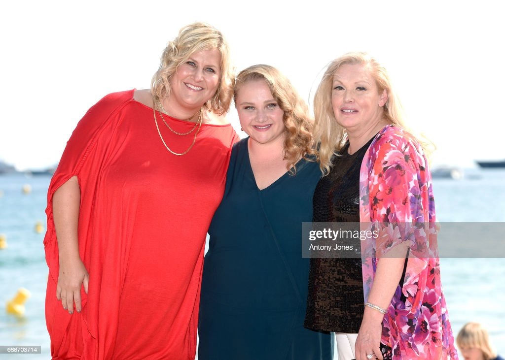 Bridget Everett, Danielle Macdonald, and Cathy Moriarty attend the 'Patti Cake$' Photocall during the 70th annual Cannes Film Festival at Palais des Festivals on May 26, 2017 in Cannes, France.