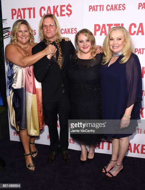 Bridget Everett Director Geremy Jasper Danielle Macdonald and Cathy Moriarty attend the 'Patti Cake$' New York Premiere at The Metrograph on August...