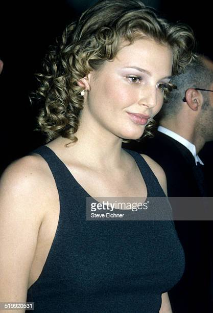 Bridget Hall at CFDA awards at Lincoln Center New York New York February 3 1997