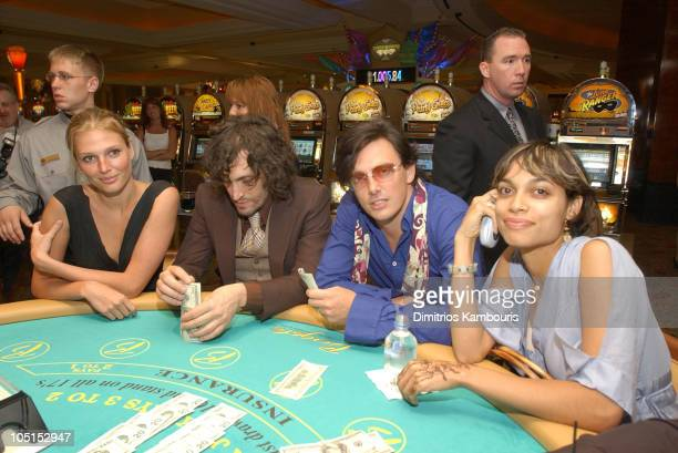 Bridget Hall Vincent Gallo Donovan Leitch and Rosario Dawson