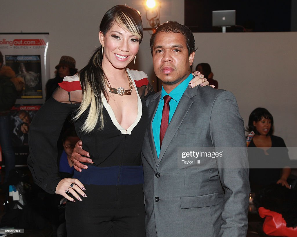 Bridget Kelly and Johnny Nunez attend the 2012 Mirror Mirror Awards at The Union Square Ballroom on December 12, 2012 in New York City.