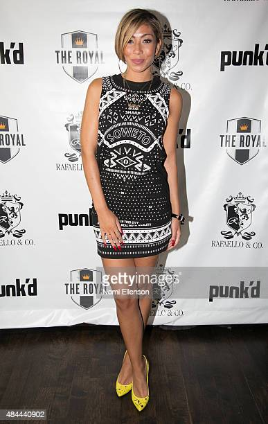 Bridget Kelly attends producer Kenny Hamilton's private 'Punk'd' viewing party on August 18 2015 in New York City