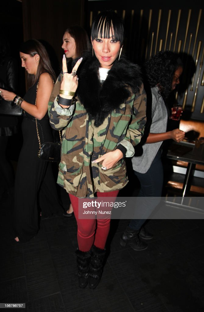 Bridget Kelly attends Rihanna's 'Unapologetic' Record Release Party at 40 / 40 Club on November 20, 2012 in New York City.
