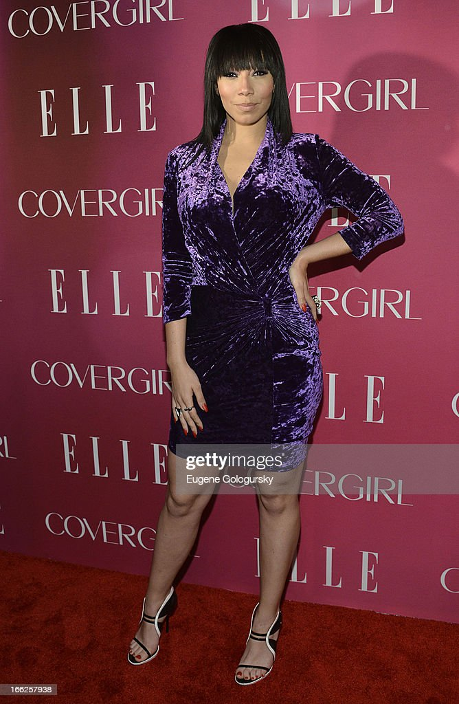 Bridget Kelly attends the 4th annual ELLE Women in Music Celebration at The Edison Ballroom on April 10, 2013 in New York City.