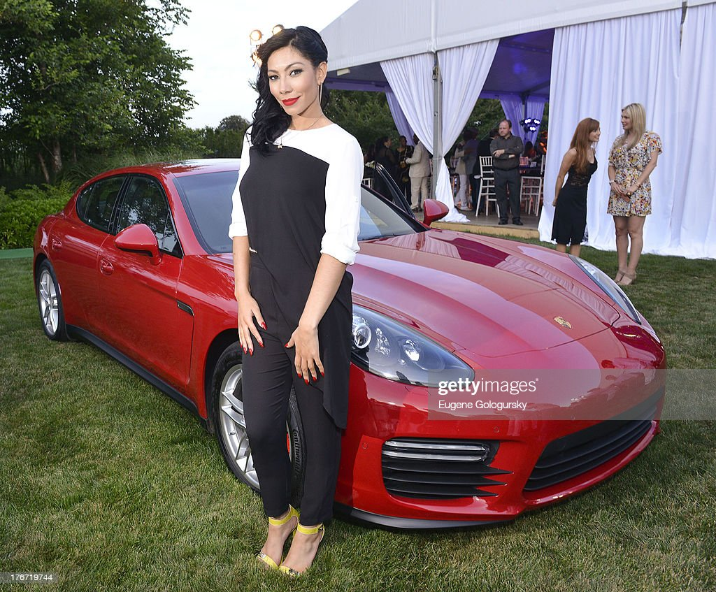 <a gi-track='captionPersonalityLinkClicked' href=/galleries/search?phrase=Bridget+Kelly+-+Musician&family=editorial&specificpeople=10815047 ng-click='$event.stopPropagation()'>Bridget Kelly</a> attends the The Compound Foundation 2nd Annual 'Fostering A Legacy' Benefit Hosted By Ne-YO & Mission BIG on August 17, 2013 in East Hampton, New York.