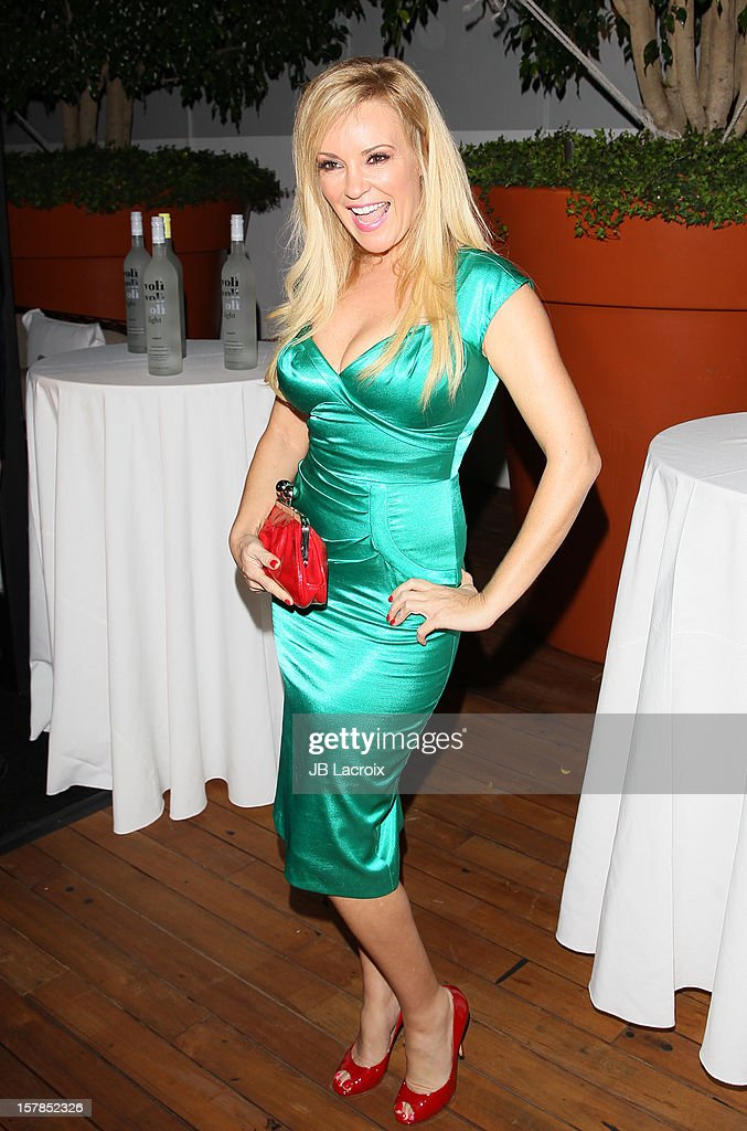 Bridget Marquardt attends the Voli Light Vodka Benefit at SkyBar at the Mondrian Los Angeles on December 6, 2012 in West Hollywood, California.