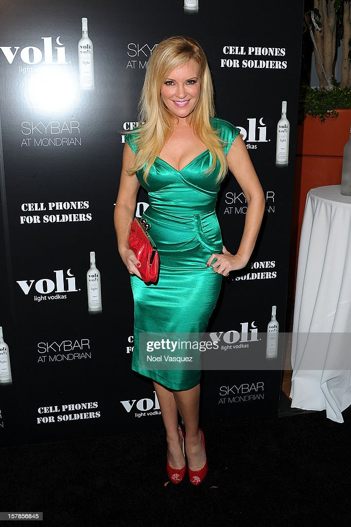 Bridget Marquardt attends the Voli Lights Vodka benefit at SkyBar at the Mondrian Los Angeles on December 6, 2012 in West Hollywood, California.