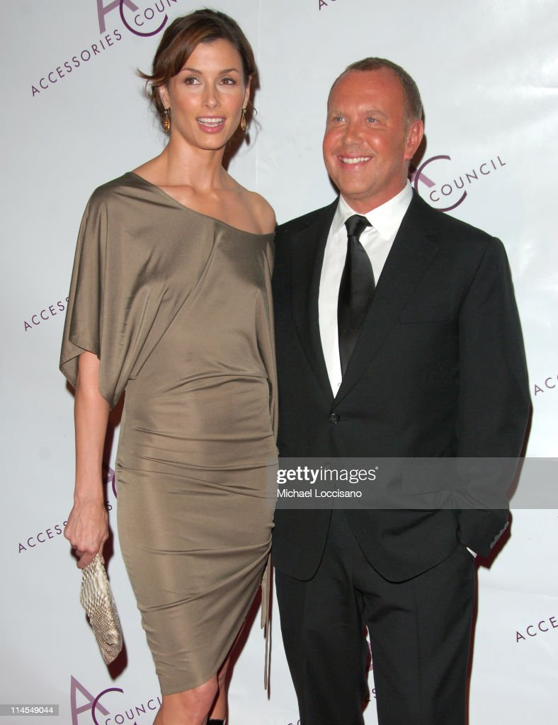 Bridget Moynahan and Michael Kors during 10th Annual Ace Awards - Arrivals at Cipriani - 42nd Street in New York City, New York, United States.