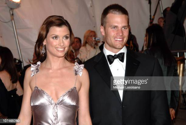 Bridget Moynahan and Tom Brady during 'Chanel' Costume Institute Gala Opening at the Metropolitan Museum of Art Arrivals at Metropolitan Museum of...