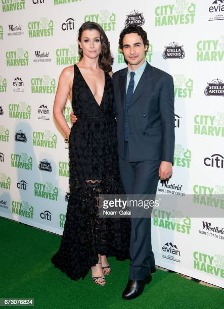 Bridget Moynahan and Zac Posen attend the 23rd Annual City Harvest 'An Evening of Practical Magic' Gala at Cipriani 42nd Street on April 25 2017 in...