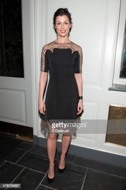 Bridget Moynahan attends Help USA's 2014 Tribute Awards Dinner at 583 Park Avenue on March 12 2014 in New York City