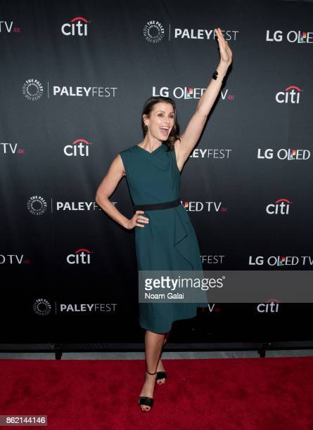 Bridget Moynahan attends the 'Blue Bloods' screening during PaleyFest NY 2017 at The Paley Center for Media on October 16 2017 in New York City