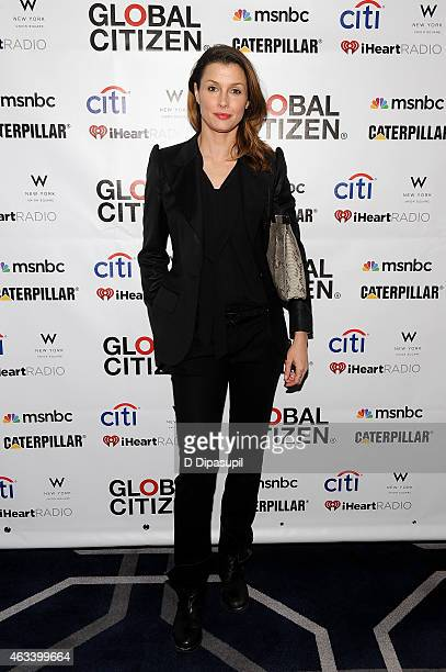 Bridget Moynahan attends the Global Citizen 2015 Launch Party at the W New York Union Square on February 13 2015 in New York City