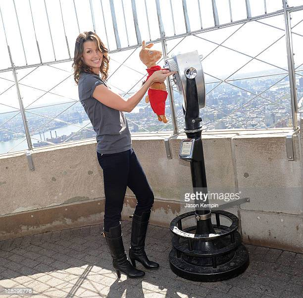 Bridget Moynahan attends the Jumpstart's Read For The Record event at The Empire State Building on October 6 2011 in New York City