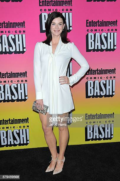 Bridget Regan arrives at Entertainment Weekly's Annual ComicCon Party at Float at Hard Rock Hotel San Diego on July 23 2016 in San Diego California
