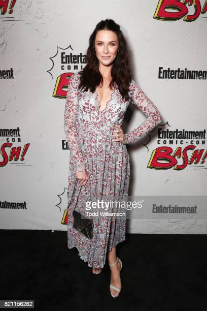 Bridget Regan at Entertainment Weekly's annual ComicCon party in celebration of ComicCon 2017 at Float at Hard Rock Hotel San Diego on July 22 2017...