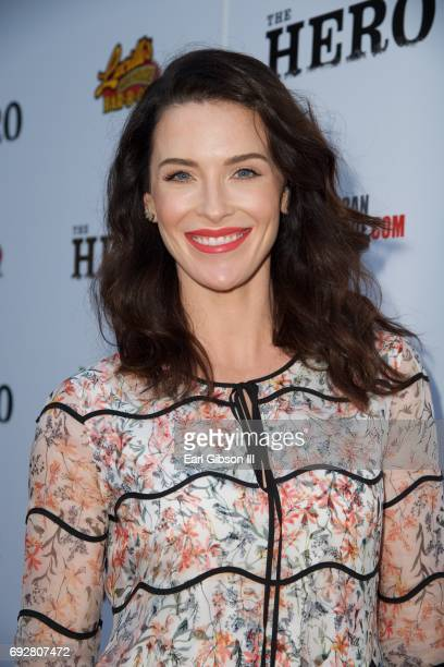 Bridget Regan attends the Premiere Of The Orchard's 'The Hero' at the Egyptian Theatre on June 5 2017 in Hollywood California