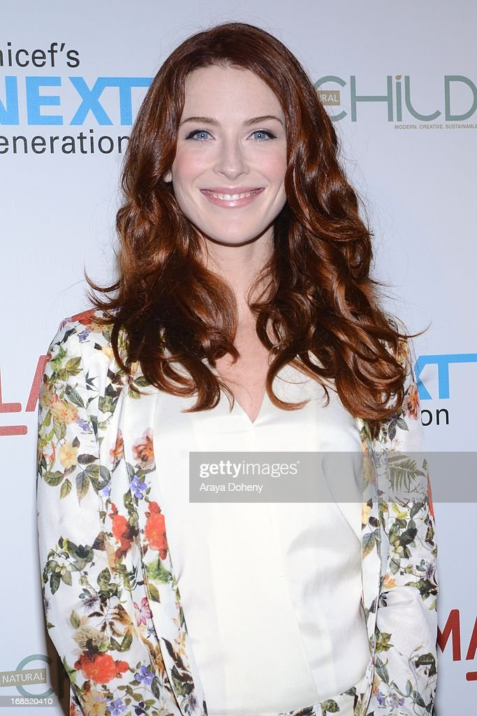 Bridget Regan attends the UNICEF NextGen Los Angeles launch at LACMA on May 9, 2013 in Los Angeles, California.