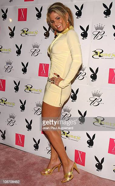 Bridgetta Tomarchio during Playboy July 2005 Issue Release Party for Cover Model Joanna Krupa at Montmartre Lounge in Hollywood California United...