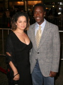 Bridgid Coulter and Don Cheadle during 'Babel' Los Angeles Premiere Arrivals at Mann Village in Westwood California United States